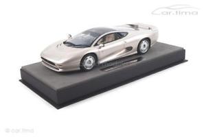 【送料無料】模型車 モデルカー スポーツカー ジャガーシルバートップマルケストップjaguar xj220 silber 1 of 150 top marques 118 top39c
