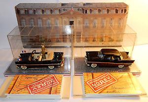 【送料無料】模型車 モデルカー スポーツカー プレドゴールrare cret norev simca chambord presidentielle 19581959 general de gaulle
