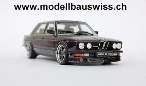 【送料無料】模型車 モデルカー スポーツカー アルピナターボチューニングbmw alpina b7 turbo e28 118 1zu18 tuning umbau