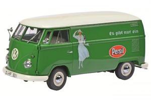 【送料無料】模型車 モデルカー スポーツカー ビューバスschuco vw bus t1b persil 118 limitiert 11000