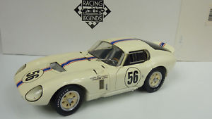 【送料無料】模型車 モデルカー スポーツカー レーシングシェルビーコブラデイトナクーペexoto racing legens 118 shelby cobra daytona coupe 1965 in ovp a659