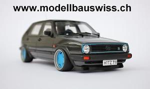 【送料無料】模型車 モデルカー スポーツカー ゴルフモータスポーツエディションチューニングvw golf mk2 16vg60 motorsport edition 118 1zu18 tuning