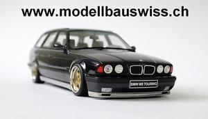 【送料無料】模型車 モデルカー スポーツカー ツーリングバイオレットチューニングbmw m5 e34 touring violett 118 1zu18 tuning umbau