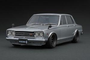 【送料無料】模型車 モデルカー スポーツカー スカイラインシルバーイグニッションモデルnissan skyline 2000 gtr pgc10 silber 118 ig0760 ignition model