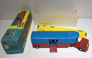 【送料無料】模型車 モデルカー スポーツカー コーギーサーカススケールcorgi toys major 1130 chipperfields circus horse transporter scale 143 boxed