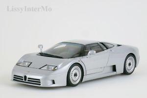 【送料無料】模型車 モデルカー スポーツカー ブガッティシルバーbugatti eb 110 gt 1991 silber autoart 118 neuovp