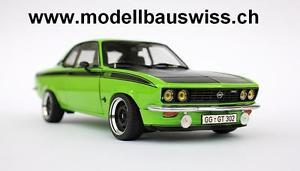 【送料無料】模型車 モデルカー スポーツカー オペルマンタチューニングopel manta gte 1975 118 tuning