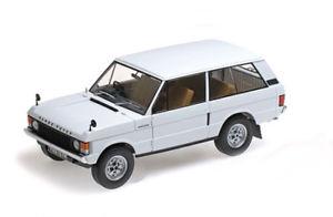 【送料無料】模型車 モデルカー スポーツカー ランドローバーレンジローバーホワイトリアルタイムland rover range rover 1970 weiss 118 almost real