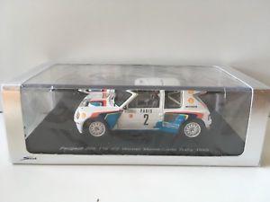 【送料無料】模型車 モデルカー スポーツカー プジョーモンテカルロスパークpeugeot 205 monte carlo n2 1985 spark 143