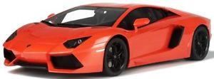 【送料無料】模型車 モデルカー スポーツカー ランボルギーニオレンジグアテマラグアテマラlamborghini aventador orange gt sprin kyosho 112 gt048