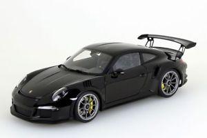 【送料無料】模型車 モデルカー スポーツカー ポルシェporsche 911 991 gt3 rs 2016 schwarz autoart 118 neuovp
