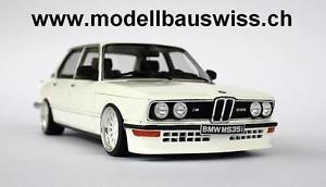 【送料無料】模型車 モデルカー スポーツカー モデルスイスbmw m535i e12 118 1zu18 118 umbau wwwmodellbauswissch