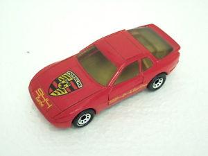 【送料無料】模型車 モデルカー スポーツカー マッチポルシェターボターボmatchbox rare resine prototype mb71 porsche 944 turbo, red  944 turbo lt;