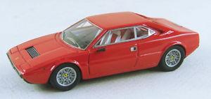 【送料無料】模型車 モデルカー スポーツカー フェラーリディノグアテマラレッドハットabc 095r ferrari dino 208 gt4 bertone 1975 red