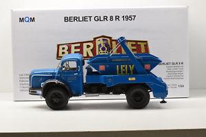 【送料無料】模型車 モデルカー スポーツカー ヌフberliet glr 8 r 1957 multibenne mqm maqmadon 124 neuf en boite