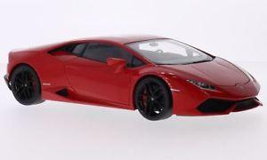 【送料無料】模型車 モデルカー スポーツカー ランボルギーニlamborghini huracan lp6104, rot, 118, autoart
