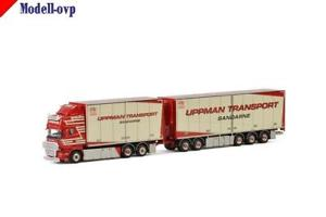 【送料無料】模型車 モデルカー スポーツカー トップラインモデルscania r streamline topline uppman transport wsi models wsi 012261