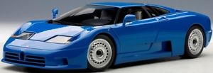 【送料無料】模型車 モデルカー スポーツカー ブガッティグアテマラautoart 70976 118 bugatti eb110 gt 1991 blue neu