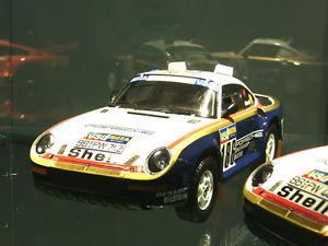 【送料無料】模型車 モデルカー スポーツカー ポルシェパリダカールラリー#porsche 959 911 rallye raid paris dakar metge 186 1986 rar winner tsm 118