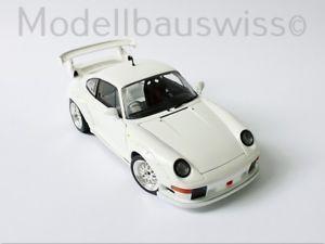 【送料無料】模型車 モデルカー スポーツカー ポルシェグアテマラデイトナチューニングporsche 911 gt2 daytona 1996 weiss 1zu18 118 tuning rar
