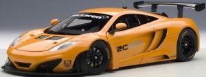 【送料無料】模型車 モデルカー スポーツカー マクラーレングアテマラプレゼンテーションカーメタリックオレンジautoart 81340 118 mclaren mp412c gt3 presentation car metallic orange neu