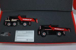 【送料無料】模型車 モデルカー スポーツカー コンラッドセットクレーンxx conrad set demag ac40 amp; ac25 autokran mammoet 2093 2089 150 neu xx