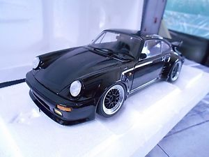 【送料無料】模型車 モデルカー スポーツカー ポルシェターボミッドナイトブラック