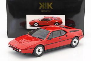【送料無料】模型車 モデルカー スポーツカー スケールbmw m1 e26 street baujahr 1978 rot 112 kkscale