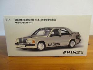 【送料無料】模型車 モデルカー スポーツカー メルセデスベンツラウダ#ニュルブルクリンク gor 118 autoart mercedes benz 190e 23 16 lauda 18 nrburgring neu ovp