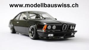 【送料無料】模型車 モデルカー スポーツカー チューニングモデルスイスbmw 635 csi schwarz 118 tuning limitiert rar wwwmodellbauswissch