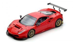 【送料無料】模型車 モデルカー スポーツカー フェラーリグアテマラferrari 488 gt3 red