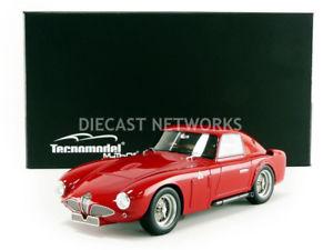 【送料無料】模型車 モデルカー スポーツカー テクノモデルアルファロメオプレスリリースtecnomodel mythos 118 alfaromeo 6c 300 cm press version 1953 tm1848a