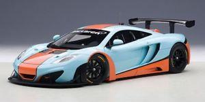 【送料無料】模型車 モデルカー スポーツカー マクラーレングアテマラオレンジautoart mclaren 12c gt3 blau orange 118 81343