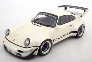 【送料無料】模型車 モデルカー スポーツカー グアテマラポルシェソフトウェアライセンスホワイトメタリック112 gt spirit porsche 911 964 rwb whitemetallic