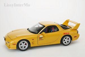 【送料無料】模型車 モデルカー スポーツカー マツダアニメーションmazda efini rx7 fd3s animation film initial d autoart 118 neuovp