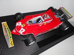 【送料無料】模型車 モデルカー スポーツカー フェラーリ#ビルヌーブgp003 ferrari 312 t4 12 g villeneuve 1979 118