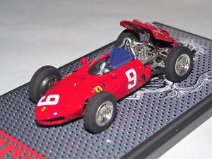 【送料無料】模型車 モデルカー スポーツカー フェラーリキングモデルferrari 156 f1 gp belgique 1962 n9 143 king's models fb no bosica amr bbr