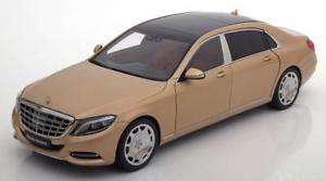 【送料無料】模型車 モデルカー スポーツカー メルセデスマイバッハゴールドメタリック118 autoart mercedes maybach s600 swb 2015 goldmetallic