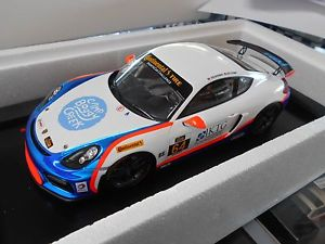 【送料無料】模型車 モデルカー スポーツカー ポルシェケイマングアテマラレーシングクラブスポーツ#チームスパークporsche cayman gt4 racing clubsport 64 team tgm spark resin 118
