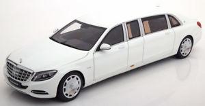 【送料無料】模型車 モデルカー スポーツカー メルセデスマイバッハプルマンホワイト118 autoart mercedes maybach s600 pullman 2016 white