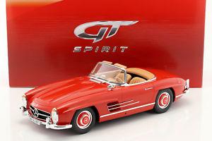 【送料無料】模型車 モデルカー スポーツカー メルセデスベンツグアテマラmercedesbenz 300sl w198 roadster baujahr 1957 rot 112 gtspirit