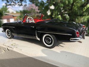 【送料無料】模型車 モデルカー スポーツカー メルセデスベンツブラックautoart 118 76118 mercedes benz 190 sl roadster schwarz hardtop top zustand