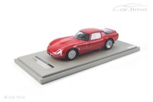 【送料無料】模型車 モデルカー スポーツカー アルファロメオリリースプレステクノモデルalfa romeo guilia tz2 press version 1965 rot 1 of 100 tecnomodel 118