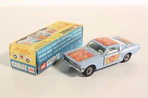 【送料無料】模型車 モデルカー スポーツカー コーギーフォードマスタングフラワーパワーボックスミントcorgi toys 348, ford mustang flower power, mint in box    ab2036