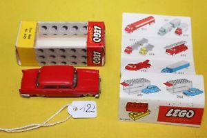 【送料無料】模型車 モデルカー スポーツカー レゴフィアット##lego 605 fiat 1800  187 mursten color red