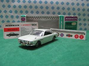 【送料無料】模型車 モデルカー スポーツカー ビンテージミントボックスrare vintage  marklin 1804  bmw 2800 cs  mint box