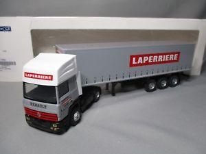 【送料無料】模型車 モデルカー スポーツカー ルノーdv7779 eligor 143 renault r385 tautliner transports laperriere 114663