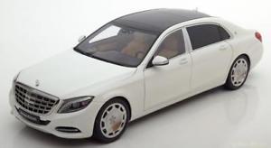 【送料無料】模型車 モデルカー スポーツカー クラスメルセデスマイバッハホワイトメタリック118 autoart mercedes maybach sclass swb 2015 whitemetallic
