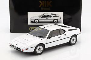 【送料無料】模型車 モデルカー スポーツカー スケールbmw m1 e26 street baujahr 1978 wei 112 kkscale