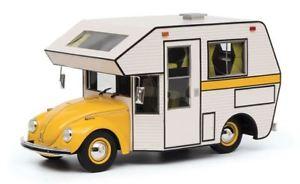 【送料無料】模型車 モデルカー スポーツカー フォルクスワーゲンフォルクスワーゲンビートルエンジンホームイエローキャンパーモデルvolkswagen vw kafer motorhome yellow camper 118 model 0113 schuco